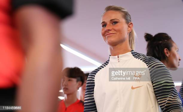 Captain Amandine Henry of France waits in the tunnel prior to the 2019 FIFA Women's World Cup France group A match between France and Korea Republic...