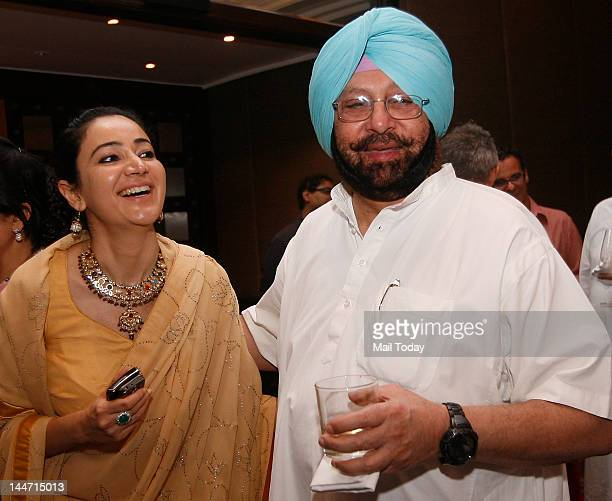 Captain Amarinder Singh at the launch of a book of royal photographs dating back to British era ''Posing for Posterity Royal Indian Portraits' on...