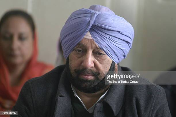 Captain Amarinder Singh Chief Minister of Punjab