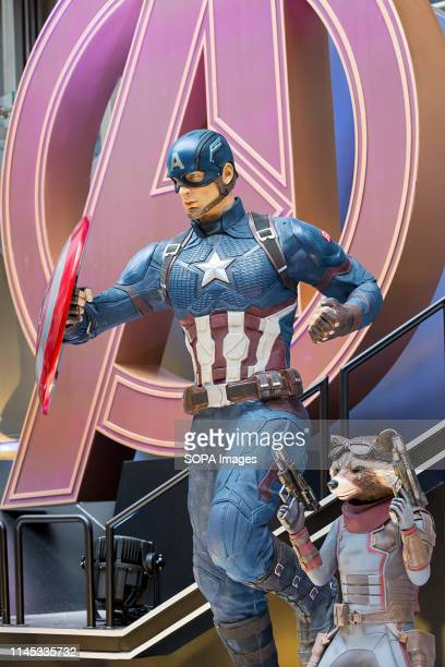 Captain America and Rocket Raccoon are fictional characters seen appearing in American comic books published by Marvel Comics Avengers 4 Endgame...