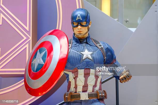 """Captain America is a fictional character seen appearing in American comic books published by Marvel Comics. Avengers 4: Endgame"""" character model..."""