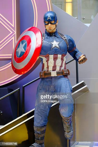 Captain America is a fictional character seen appearing in American comic books published by Marvel Comics Avengers 4 Endgame character model...