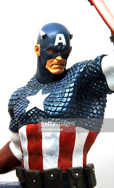captain america - marvel comics stock pictures, royalty-free photos & images