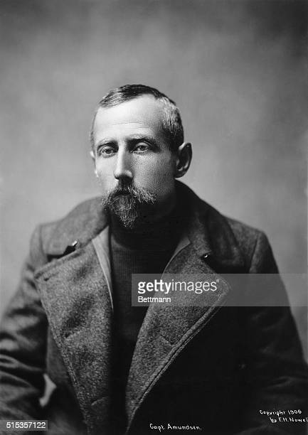 Captain Amundsen famed Arctic explored during his stay in Alaka 1906