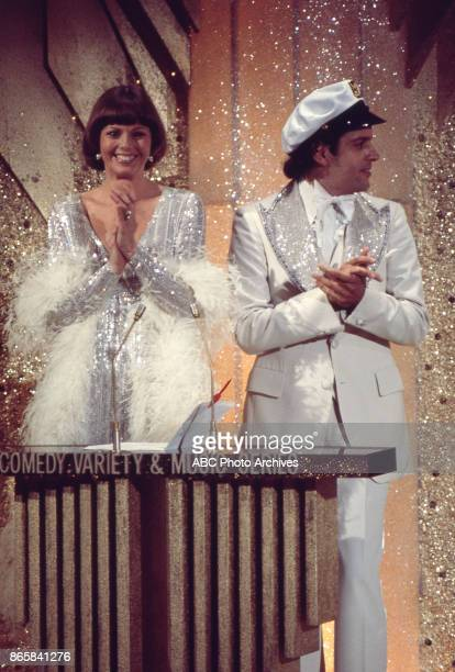 Captain and Tennille on stage at the 28th Annual Primetime Emmy Awards on May 17 1976 at The Shubert Theatre in Los Angeles California