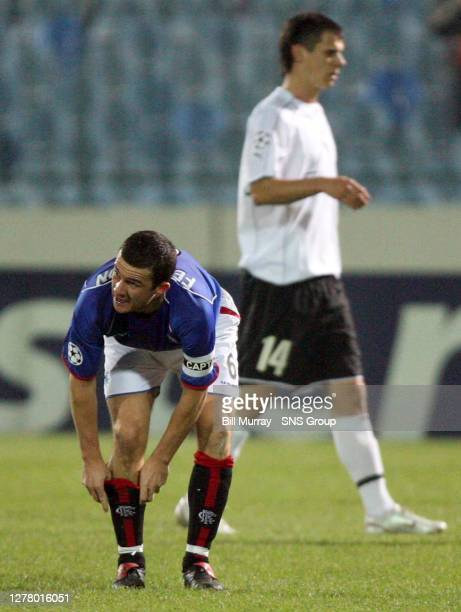 Captain Barry Ferguson led by example as Rangers notched up another Champions League point..