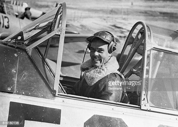 Captain Benjamin O Davis in the cockpit of a training aircraft in 1942 The following year he organized the 332nd Fighter Group the Tuskegee Airmen...