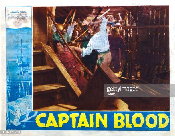 Captain Blood lobbycard Errol Flynn 1935