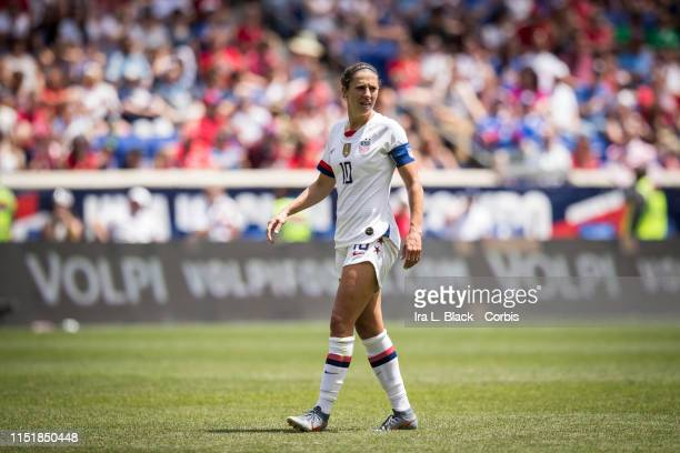 Captain Carli Lloyd of United States on the pitch during the International Friendly match the US Women's National Team and Mexico as part of the Send...