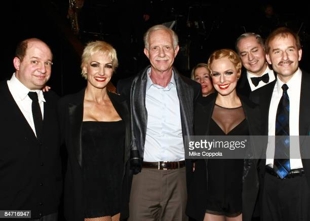 Captain Chesley SullySullenberger and Jeff Skiles visit Chicago on Broadway at the Ambassador Theatre on February 9 2009 in New York City