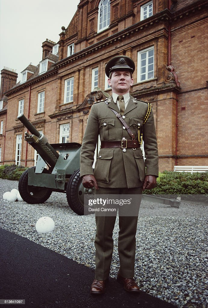 Captain Ciaran Fitzgerald of Ireland at the Irish Army headquarters on 1st March 1983 in Dublin,Ireland.