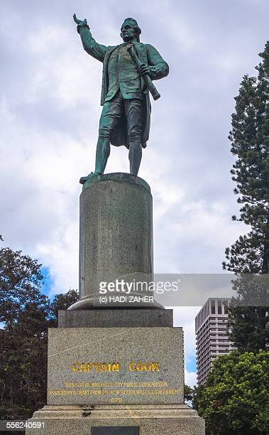 Captain Cook Statue at Hyde Park