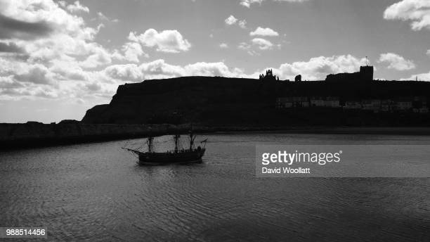 Captain Cook's HMS Endeavour Sailing from Whitby