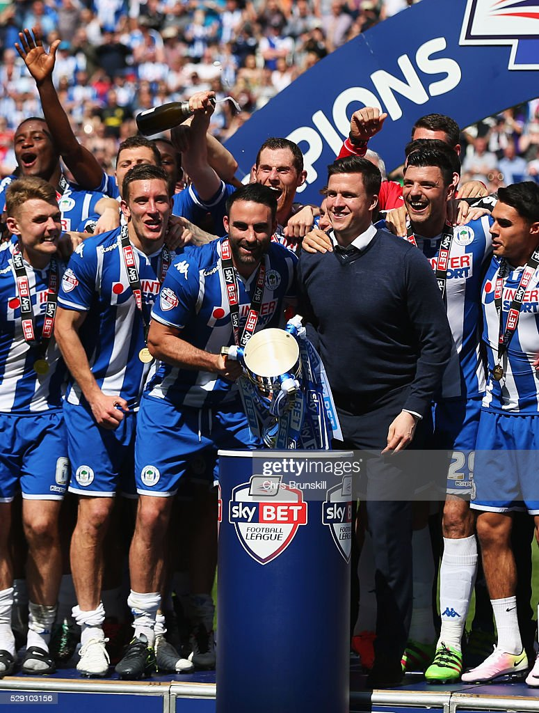 Wigan Athletic v Barnsley - Sky Bet League One : News Photo