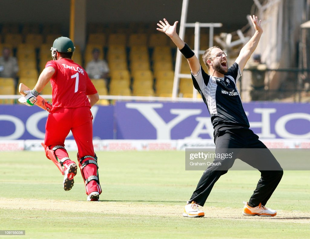 New Zealand v Zimbabwe: Group A - 2011 ICC World Cup