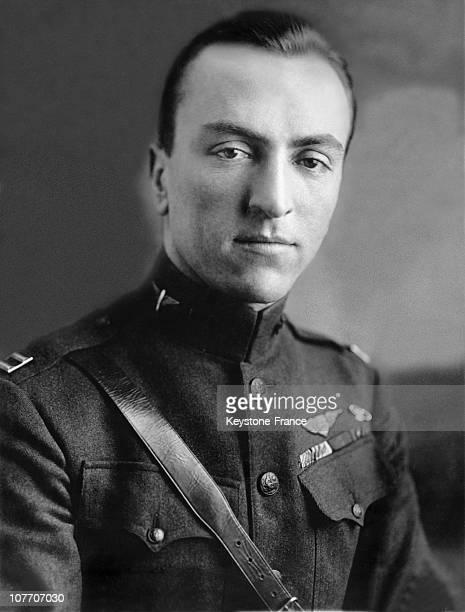 Captain Eddie Rickenbacker As American Aviation To In 1919