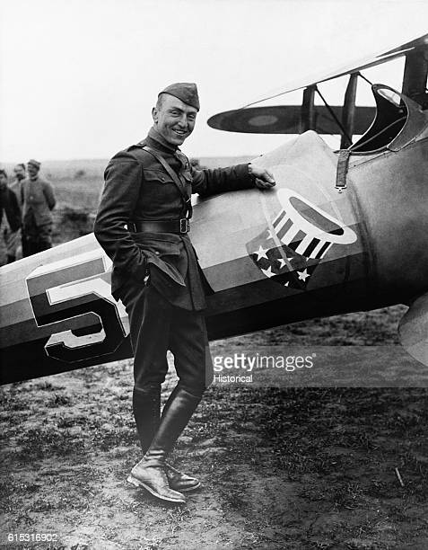 Captain Eddie Rickenbacker served in the United States army air corps during World War I