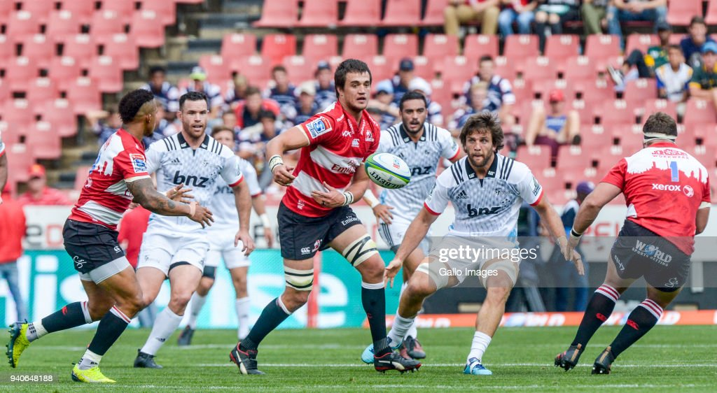 Super Rugby: Emirates Lions v Crusaders : News Photo