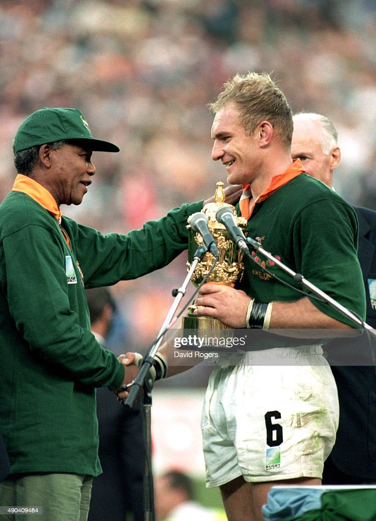 1995 Rugby World Cup : News Photo
