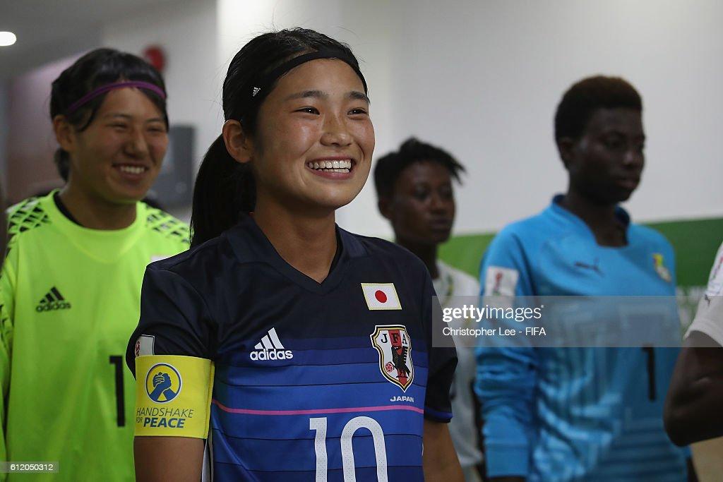 Ghana v Japan: Group D - FIFA U-17 Women's World Cup Jordan 2016 : News Photo
