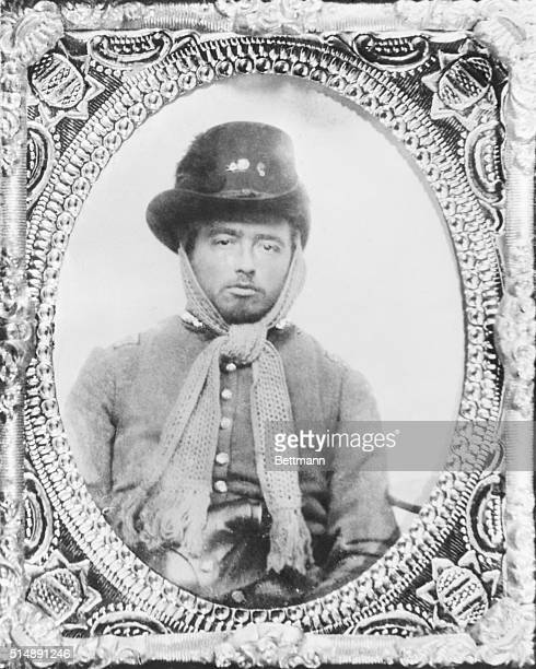 Captain George Hillyer Captain of the 9th Georgia Infantry Regiment of the Confederate States Army