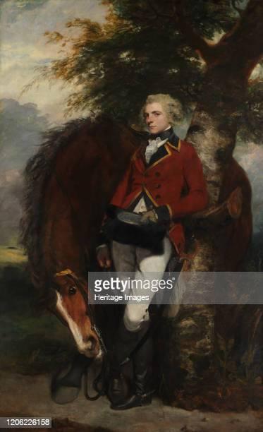 Captain George K H Coussmaker 1782 Artist Sir Joshua Reynolds