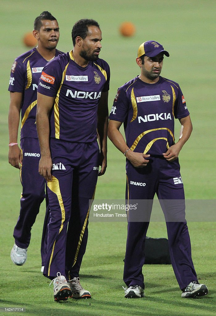 Kolkata Knight Riders Practice Session : News Photo
