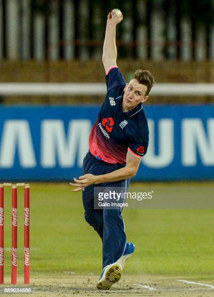 Captain Harry Brook of England during the U/19 Tri Series Final match between South Africa and England at Senwes Park on December 10 2017 in...