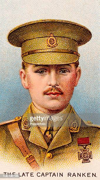 Captain Harry Ranken who was awarded the Victoria Cross during World War One featured on a vintage cigarette card published in 1915 On the 18th...