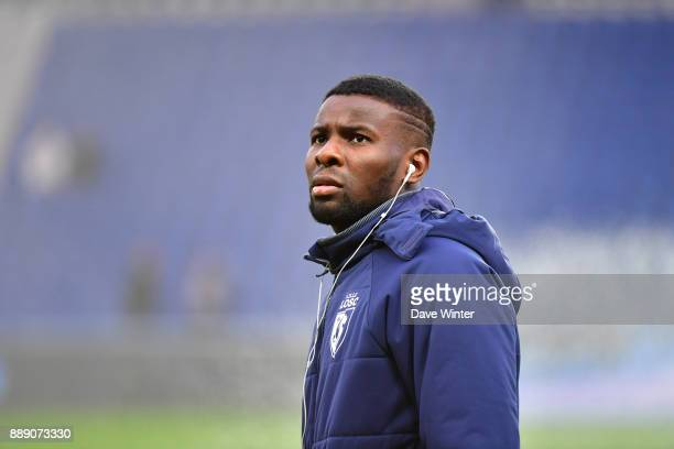 Captain Ibrahim Amadou of Lille before the Ligue 1 match between Paris Saint Germain and Lille OSC at Parc des Princes on December 9 2017 in Paris...