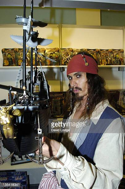 Captain Jack Sparrow lookalike Pirates of the Caribbean toy
