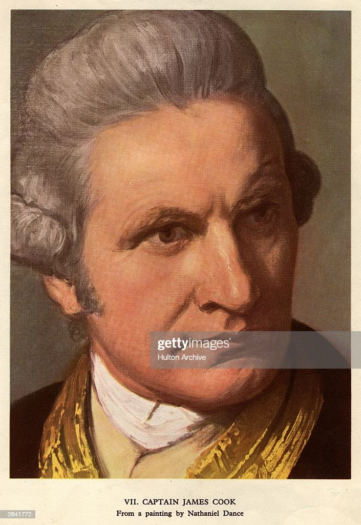 Death of captain james cook reassessed photos and images getty captain james cook 1728 1779 british explorer original artwork painting sciox Images