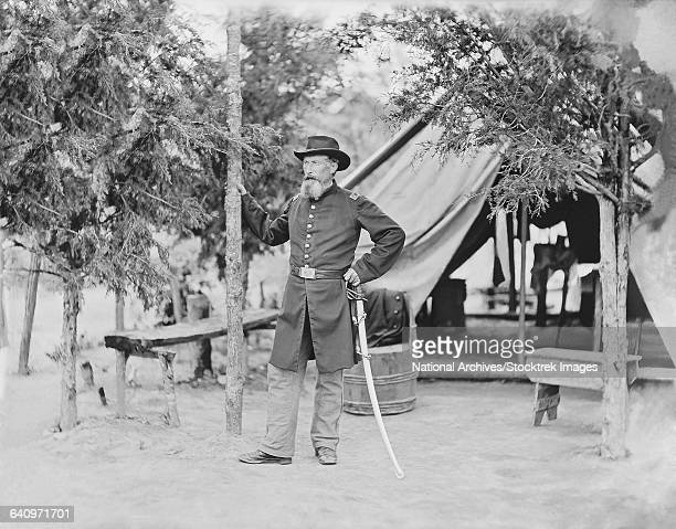 Captain James ORourke of the 4th New York Heavy Artillery.