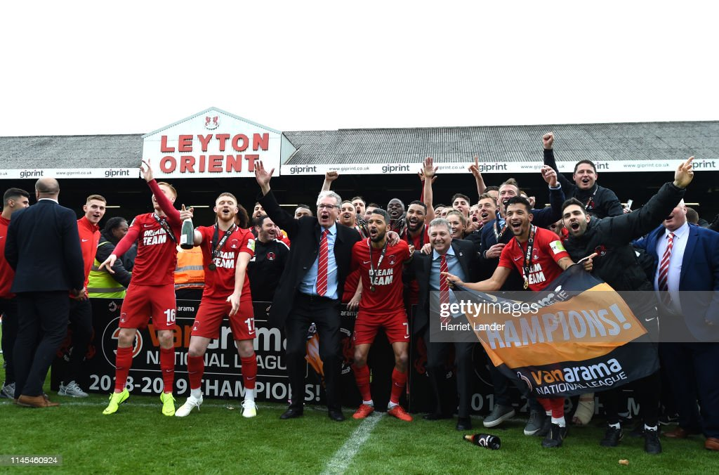 Leyton Orient v Braintree Town - Vanarama National League : News Photo