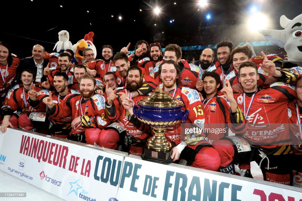 FRA: French Cup Ice Hockey - Final Four 2019 At AccorHotels Arena Bercy In Paris