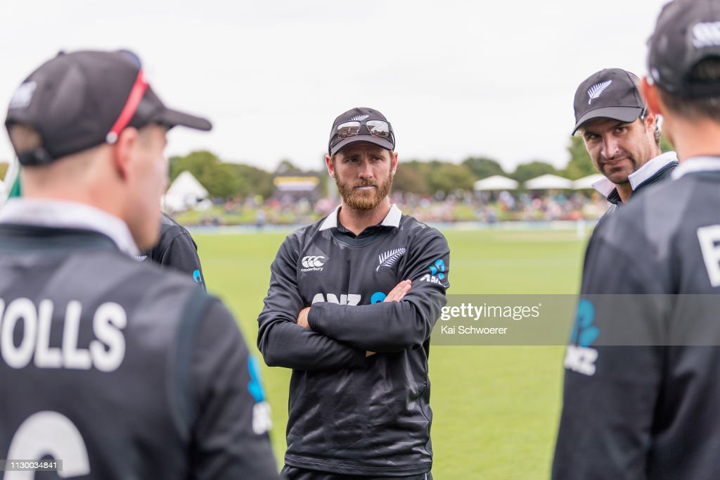 New Zealand v Bangladesh - ODI Game 2 : News Photo