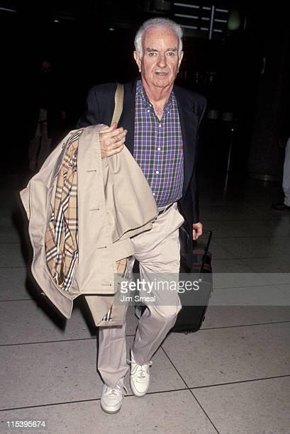 Captain Kangaroo Bob Keeshan during Bob Keeshan Arriving At LAX From New York at Los Angeles International Airport in Los Angeles California United...