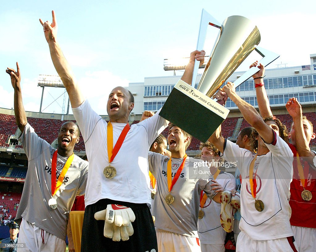 CONCACAF - 2005 Gold Cup - Panama vs USA - July 24, 2005 : News Photo