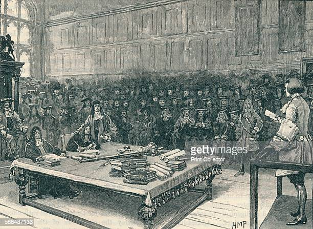 Captain Kidd before the Bar of the House of Commons 1700 Scottish privateer William Kidd was found guilty of piracy and executed in May 1701 From...