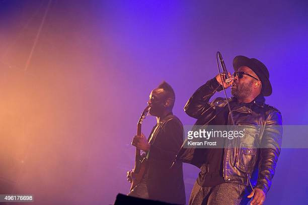 Captain Kirk Douglas and Black Thought of The Roots performs at Metropolis Festival at The RDS Concert Hall on November 7 2015 in Dublin Ireland