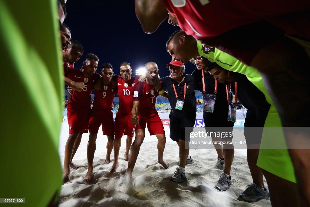 United Arab Emirates v Portugal- FIFA Beach Soccer World Cup Bahamas 2017 : ニュース写真