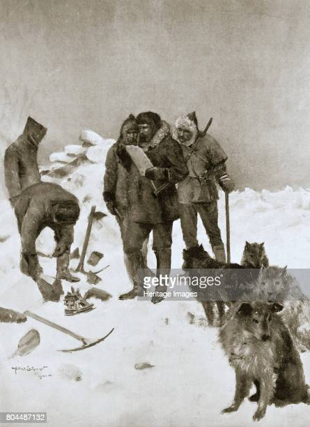 Captain McClintock's search for missing Arctic explorer Sir John Franklin 6 May 1859 The discovery of the Ross Cairn relics by Lieutenant Hobson of...