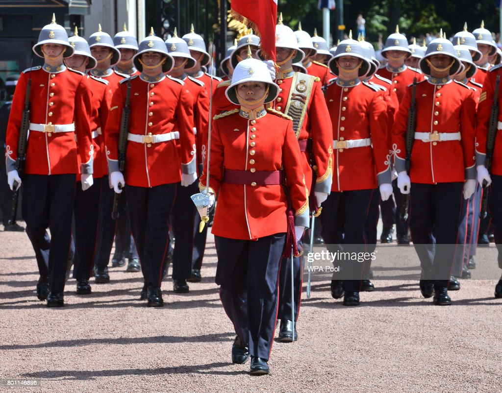 Canadian Makes History As First Woman To Command Changing Of The Guard : News Photo