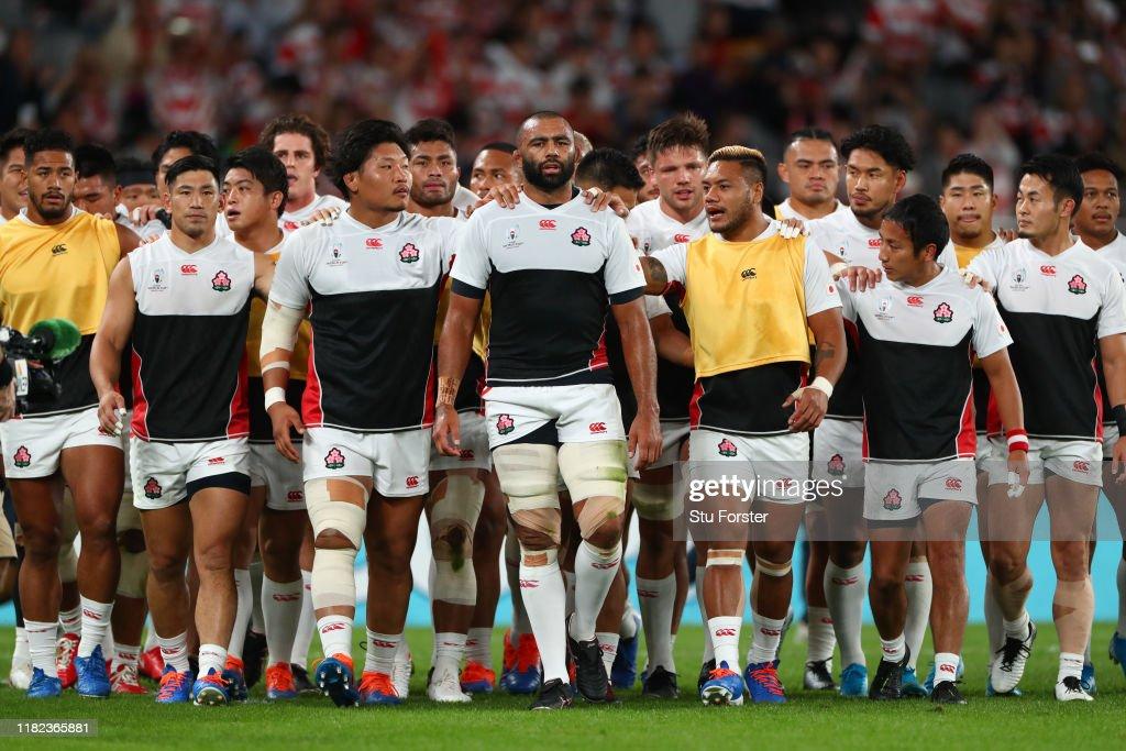Japan v South Africa - Rugby World Cup 2019: Quarter Final : ニュース写真