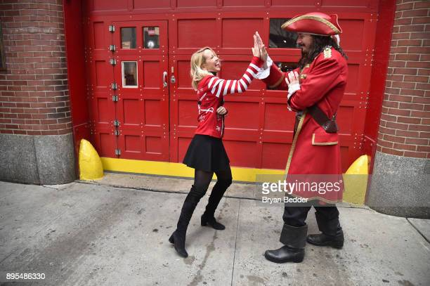 Captain Morgan and Anna Camp took fun to another level and showed people how to holiday like a Captain on Monday December 18 2017 in New York City