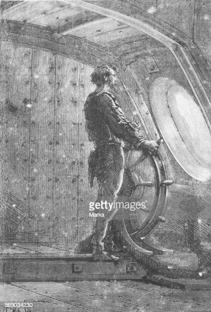 Captain Nemo Twenty Thousand Leagues Under The Sea Jules Verne