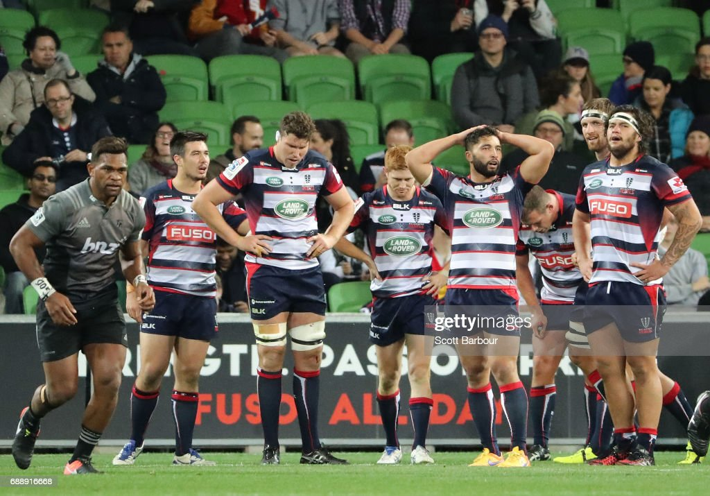 Super Rugby Rd 14 - Rebels v Crusaders : News Photo