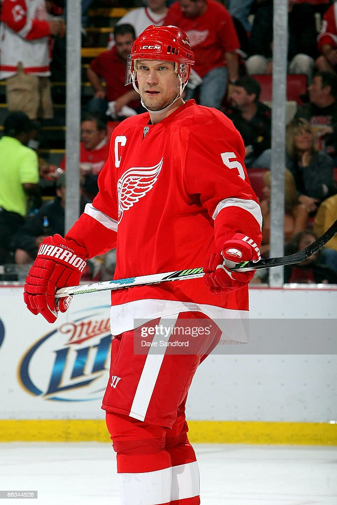 Anaheim Ducks v Detroit Red Wings - Game One