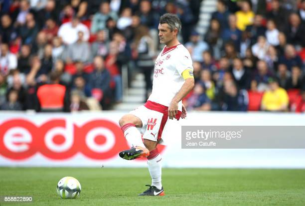Captain of Girondins de Bordeaux Jeremy Toulalan during the French Ligue 1 match between Paris SaintGermain and FC Girondins de Bordeaux at Parc des...