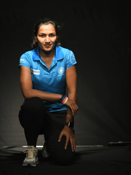 IND: Profile Shoot Of Indian Women Hockey Team Captain Rani Rampal